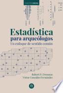 Estadística para arqueólogos