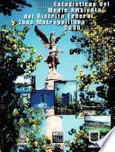 Estadísticas del medio ambiente del Distrito Federal y Zona Metropolitana 2000