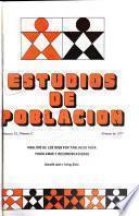 Estudios de Poblacion