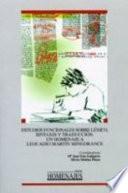 Estudios funcionales sobre léxico, sintaxis y traducción