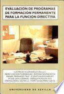Evaluación de programas de formación permanente para la función directiva