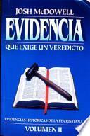 Evidencia que exige un veredicto