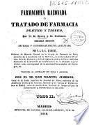 Farmacopea razonada ó Tratado de farmacia práctico y teórico