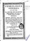 Febrilogia chyrurgica