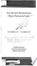 Feria del libro iberoamericana Maria Martinez de Trujillo, 20 de diciembre de 1955 - 27 de febrero de 1956