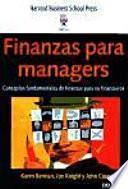 Finanzas para managers