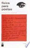 Física para poetas