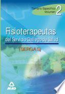 Fisioterapeutas Del Servicio Gallego de Salud. Temario Especifico Volumen Ii Ebook