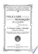 Folk-lore menorquín (De la pagesía) Lema
