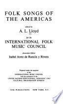 Folk Songs of the Americas