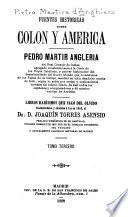 Fuentes históricas sobre Colon y América