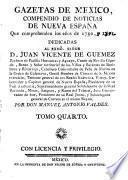 Gazetas de Mexico,