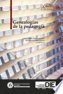 Genealogías de la pedagogía