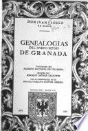 Genealogías del nuevo reino de Granada