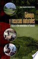 Género y recursos naturales