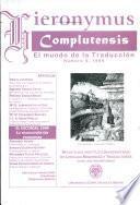 Gieronymus Complutensis El mundo de la Traduccion
