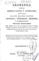 Gramática de la lengua latina y Castellana