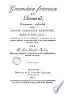 Gramática francesa de L'homond