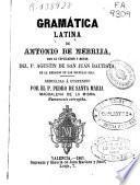 Gramática latina de Antonio de Nebrija