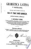 Gramática latina y castellana