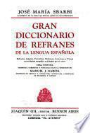 Gran diccionario de refranes de la lengua española