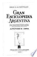 Gran enciclopedia argentina: Apendice 1964