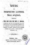 Guia del perfecto latino