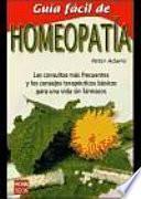 Guía fácil de homeopatía