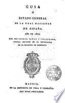 Guia o estado general de la Hacienda en España
