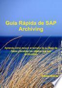 Guía Rápida de SAP Archiving