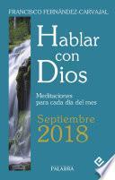 Hablar con Dios - Septiembre 2018