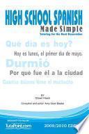 High School Spanish Made Simple