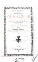 Hijos ilustres de la provincia de Albacete