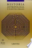 Historia Antropologia Y Fuentes Orales