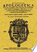 HISTORIA APOLOGETICA EN LOS SUCESOS DEL REINO DE ARAGON