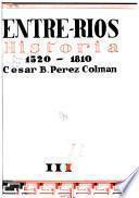 Historia de Entre Ríos