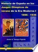 Historia de España en los Juegos Olímpicos de verano de la Era Moderna I (1896-1936)
