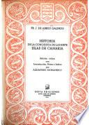 Historia de la conquista de las siete islas de Canaria