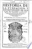 Historia de la fundación y antigüedades de San Ivan de la Peña, y de los reyes de Sobrarve, Aragon, y Navarra