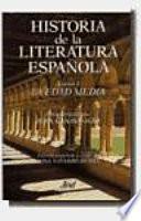 Historia de la literatura española: La Edad Media