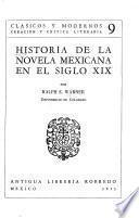 Historia de la novela mexicana en el siglo XIX