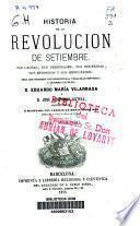 Historia de la Revolución de Setiembre