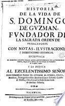 Historia de la vida de S. Domingo de Guzman