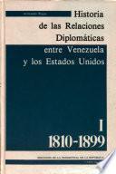 Historia de las relaciones diplomáticas entre Venezuela y los Estados Unidos: 1810-1899