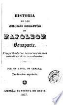 Historia de los amores secretos de Napoleón Bonaparte