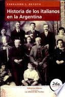 Historia de los italianos en la Argentina