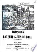 Historia de los siete sabios de Roma