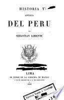 Historia ... del Perú ...
