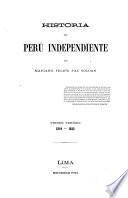 Historia del Perú independiente, primer periodo, 1819-1822
