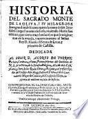 Historia del Sagrado Monte de la Oliva y su milagrosa Imagen